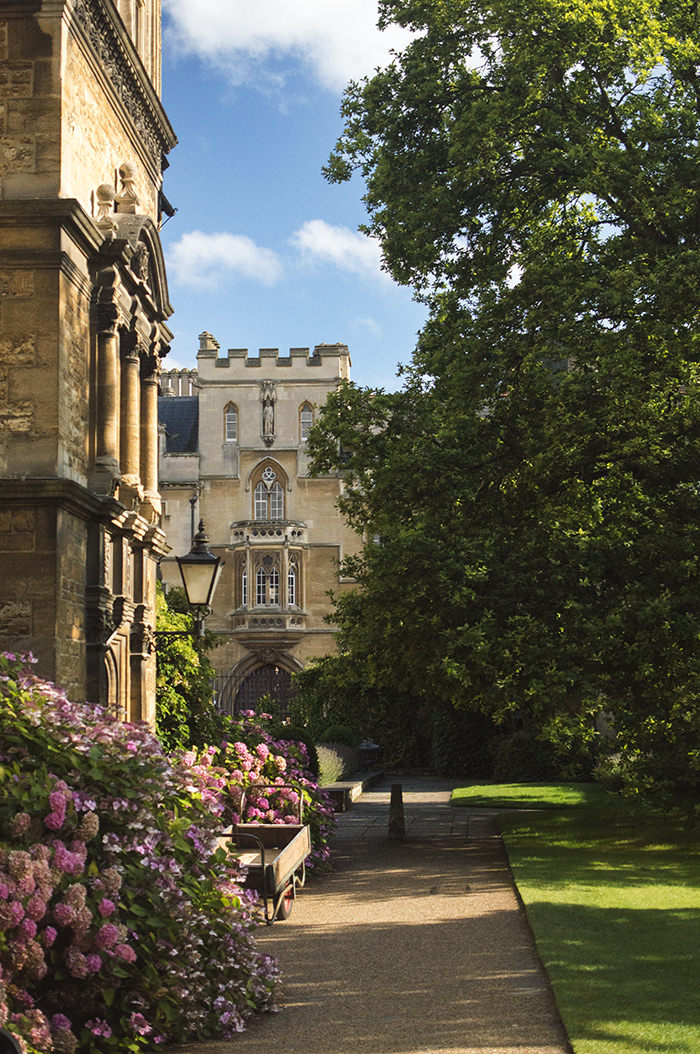 Trinity College grounds, Oxford.