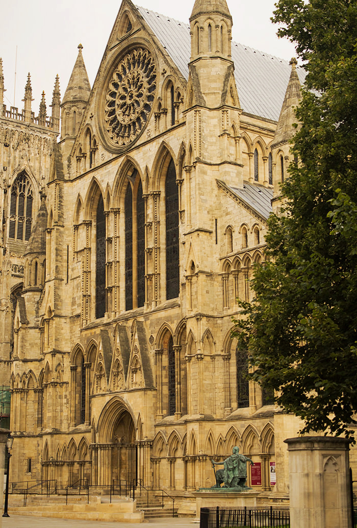 York Minster  , the other side,  York.