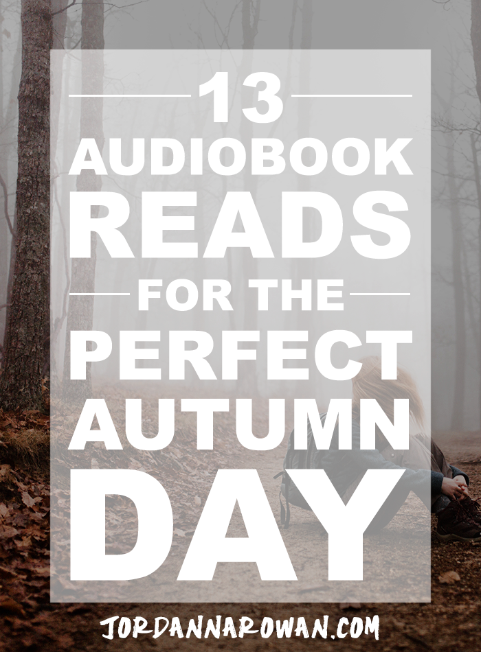 13 Audiobook Reads for the Perfect Autumn Day // GET TWO FREE AUDIOBOOKS! // Whether you're curled up in your favourite squishy chair or taking a walk on a beautiful day, a superbly narrated story is a great way to spend the time. What follows is not just a list of books, but a collection of books that are particularly great audiobook experiences. These books are selected because they're great stories and they sound great coming at your ears.