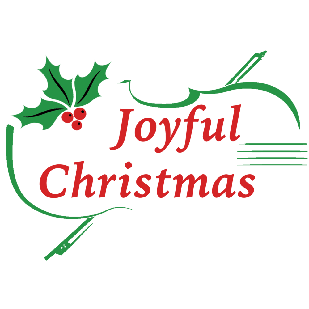 JoyfulChristmas Logo - Green and Red