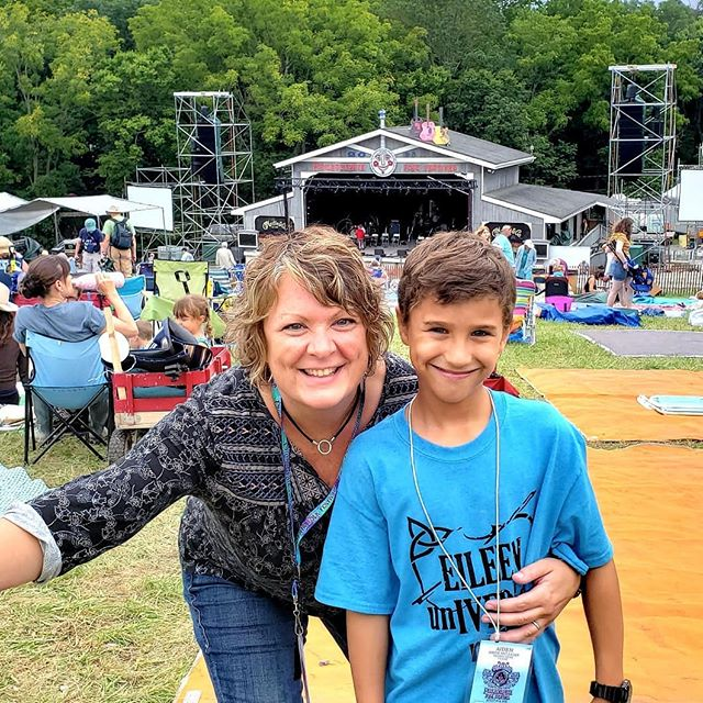 What a joy it is to be doing this now as a mom 💓🙏. Thanks @phillyfolkfest for such great memories.  #ivers_inIVERSalroots  #workingmoms