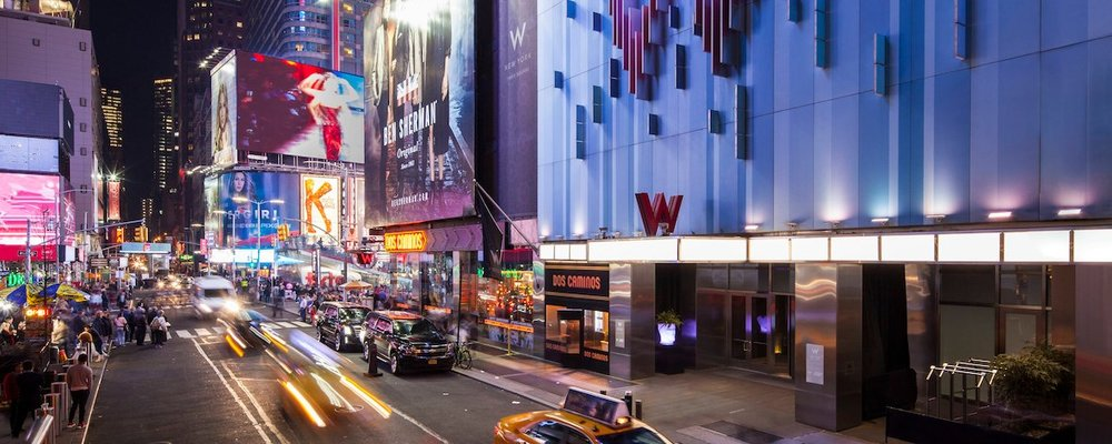 W Hotel Times Square - Two nights at W Hotel Time Square Valued at $1200