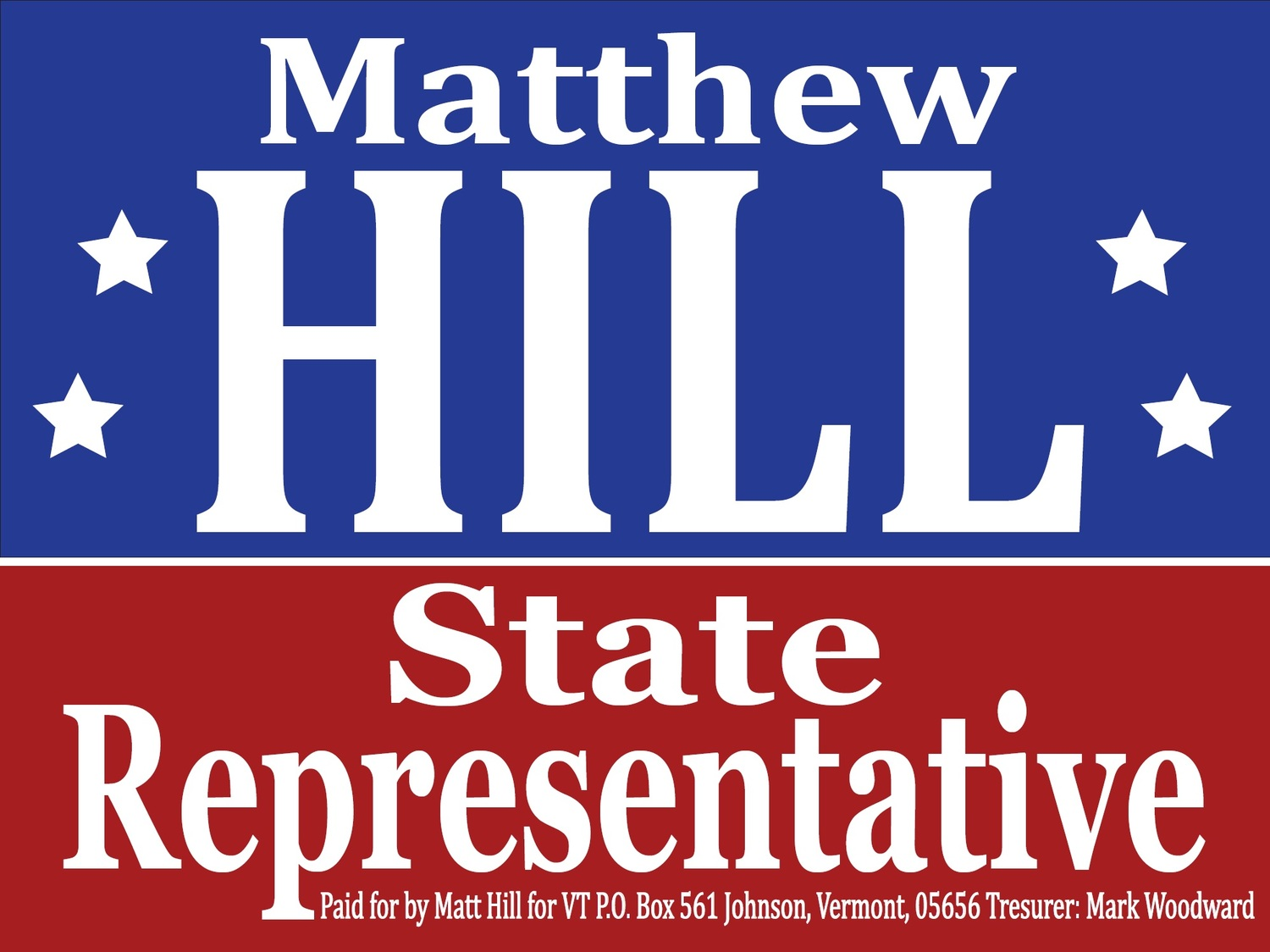 Matt Hill for Vermont