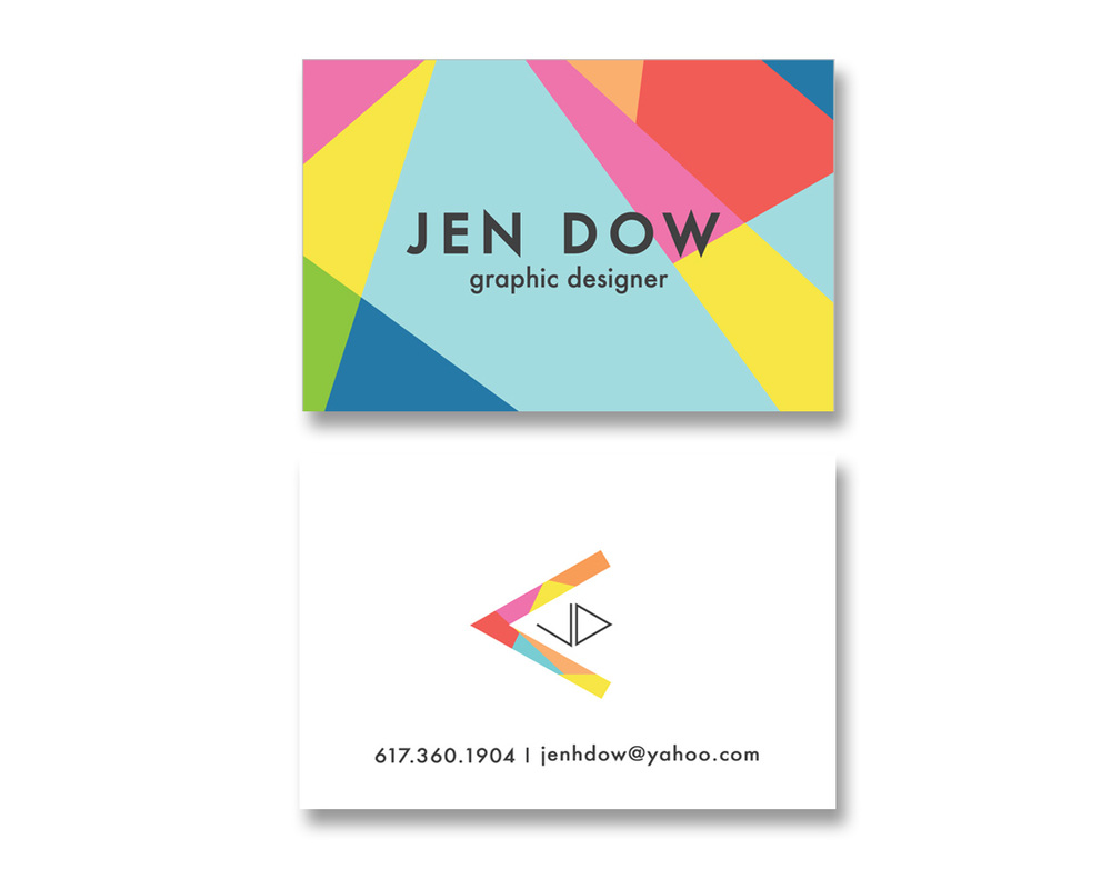 Business Cards — JEN DOW