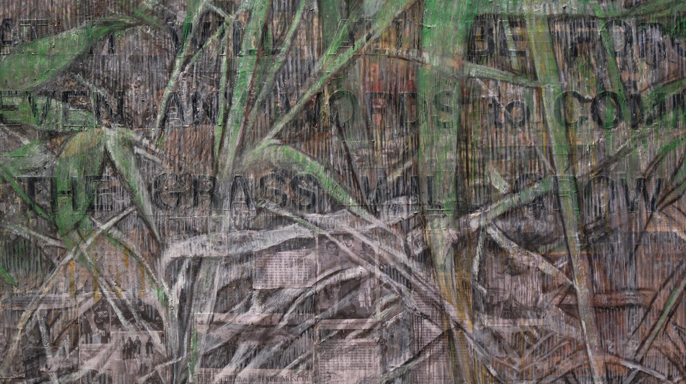2aa(1)-Detail -LBB-Will the Grass Grow Over It 48x96 in. 2013.jpg