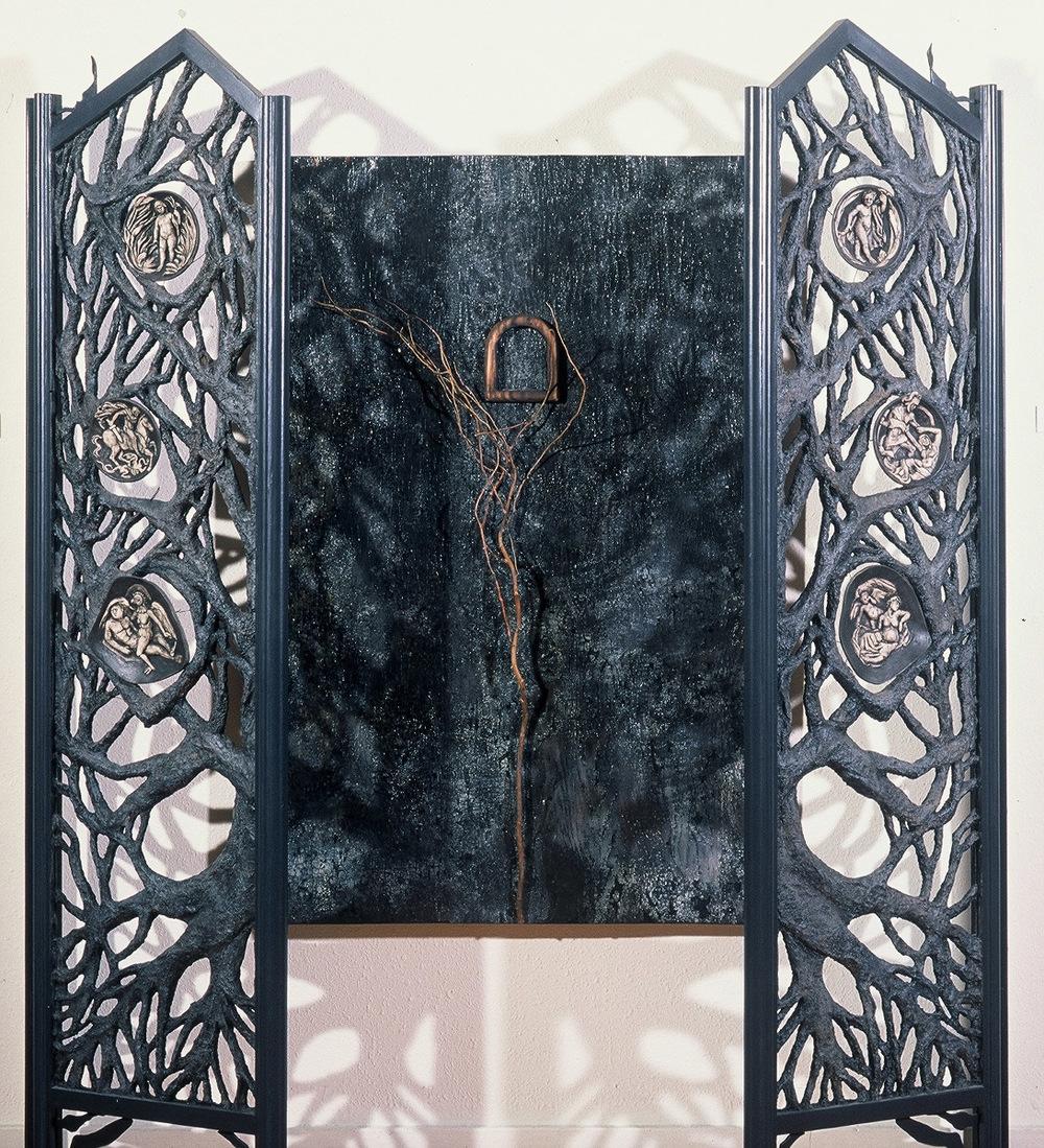 2ba(6) - Gates open, with Woods, Galveston Arts Center 1992.jpg