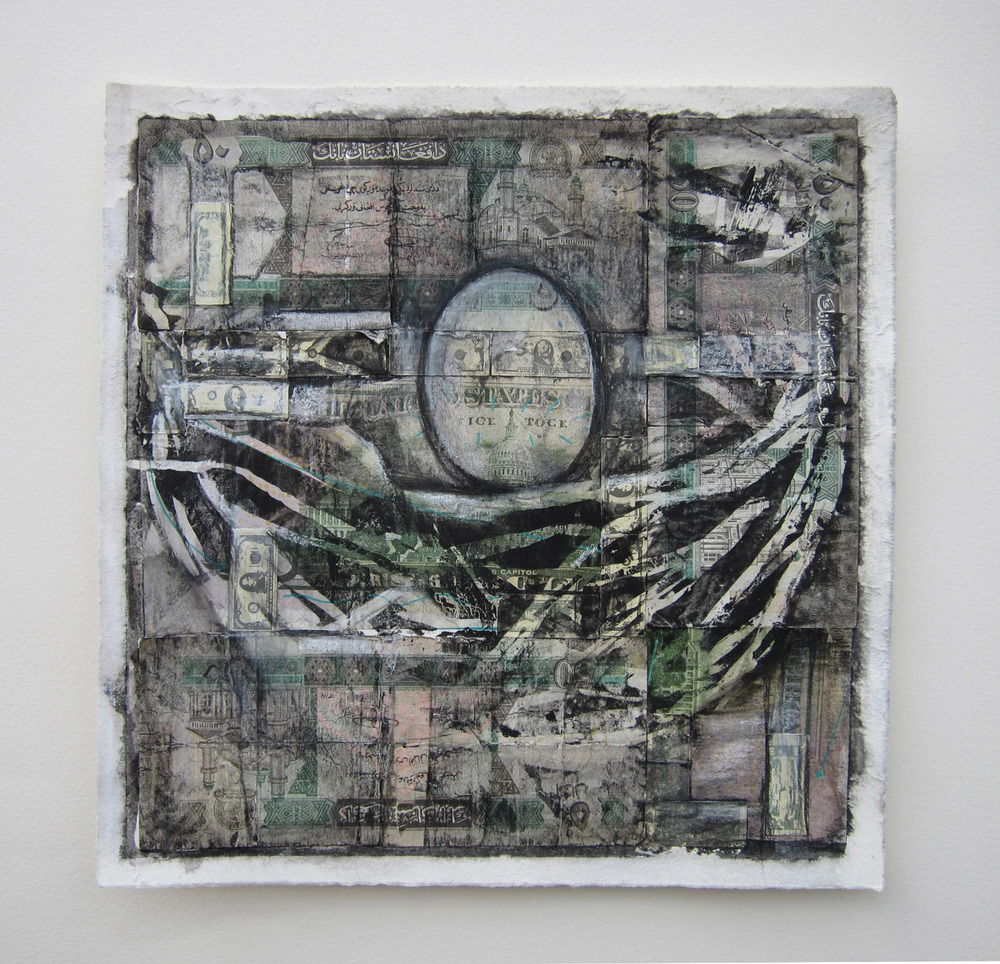 2cn(0) - Nest Egg #7 (Funny Money) Afghani currency, inks,, 9x9 nin.jpg