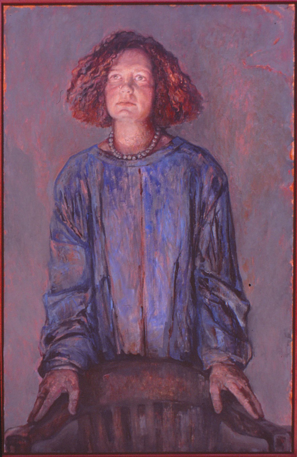 5db(0) -  The Empty Chair (Portrait of Ellen), oil resins on canvas, 2004.jpg