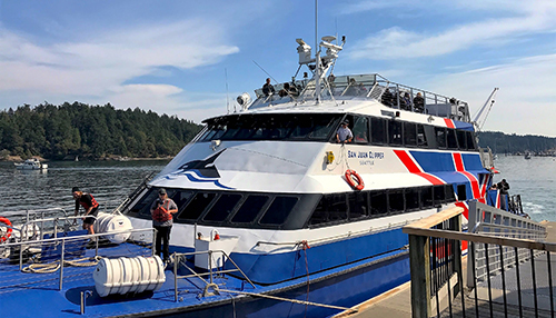The Clipper Ferry - Seattle to Friday Harbor