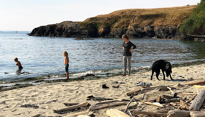 Family Fun at Grandma's Cove