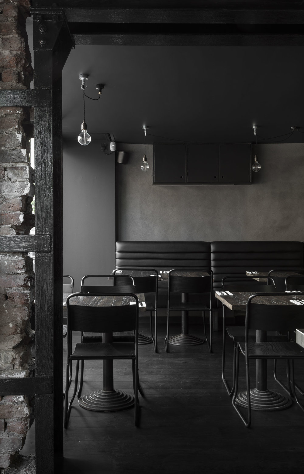 Cattle & Co-Kings-Cross-London-Smokehouse-Restaurant-Design-Monochrome-Seating-Architect.jpg