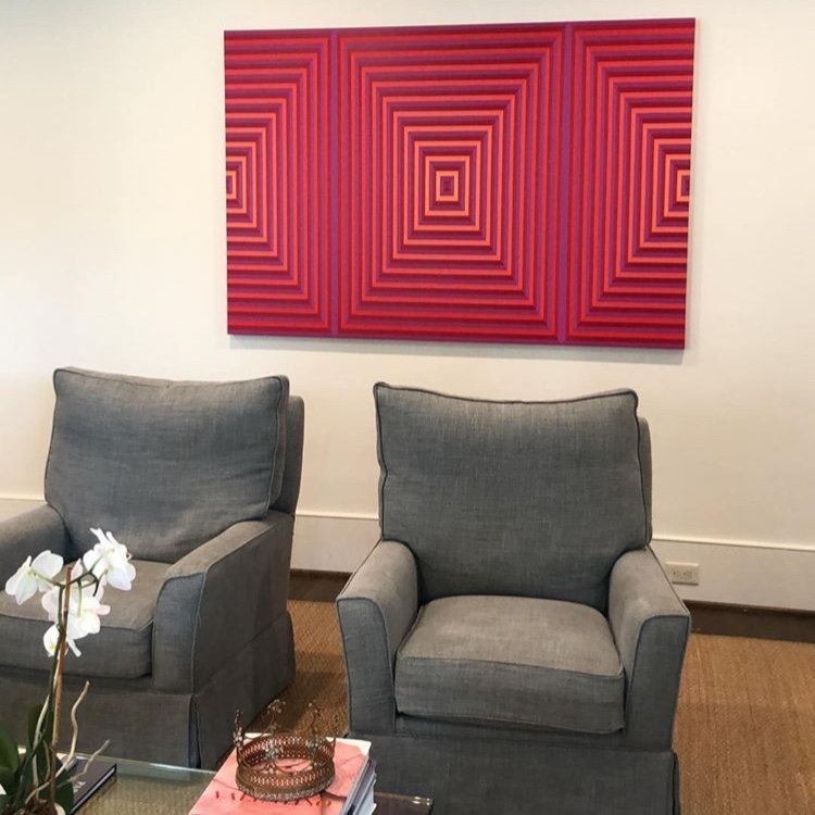 BILLOW, one of my favorite commissions of all time, in its forever home. Thank you Dimmitt Contemporary Art for providing me with such a fun project!