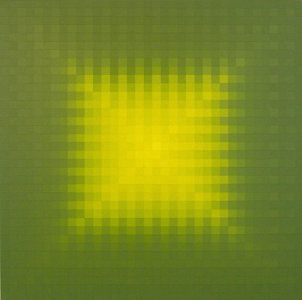 """SHADOW  36""""x36""""  acrylic on canvas  Available via  Dimmitt Contemporary Art"""