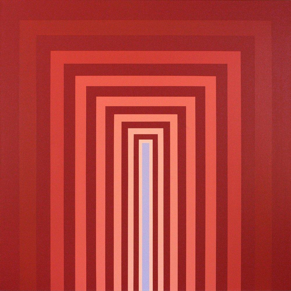 """BLAZE  48""""x48""""  acrylic on canvas  Available via  Dimmitt Contemporary Art"""