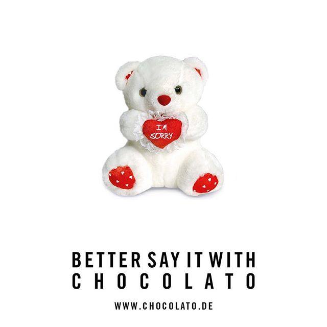 ENTDECKE DAS PERFEKTE GESCHENK BIS 5 EURO FÜR MITARBEITER, KUNDEN UND GESCHÄFTSPARTNER 🎁 #bettersayitwithchocolato #teddy #sorry 🍫 ➡️ Jetzt individuelles Muster unter www.chocolato.de/das-perfekte-geschenk anfordern!