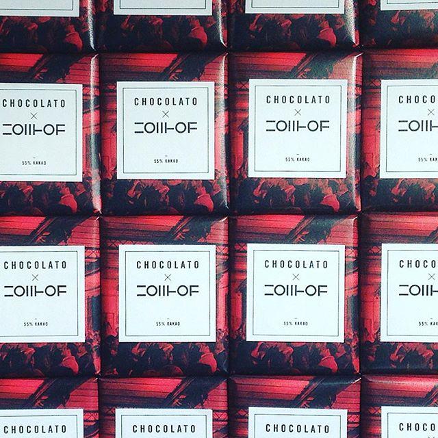 Herzlich Willkommen @zollhofhq aus Nürnberg! #bettersayitwithchocolato #privateedition #schokolade #personalisiert #packaging #design #techincubator #nürnberg