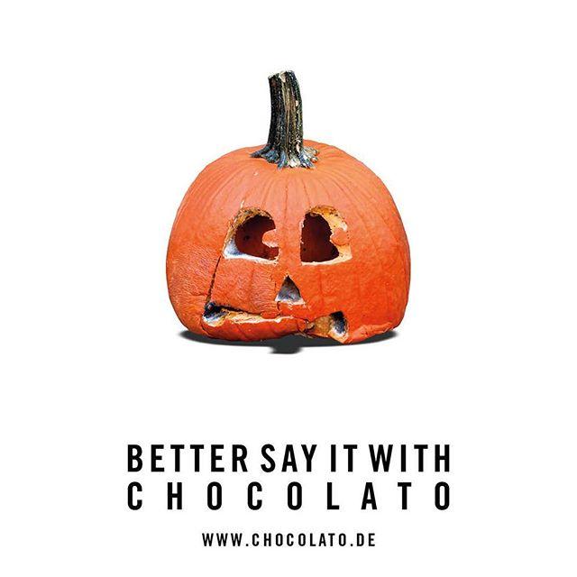 #bettersayitwithchocolato #halloween
