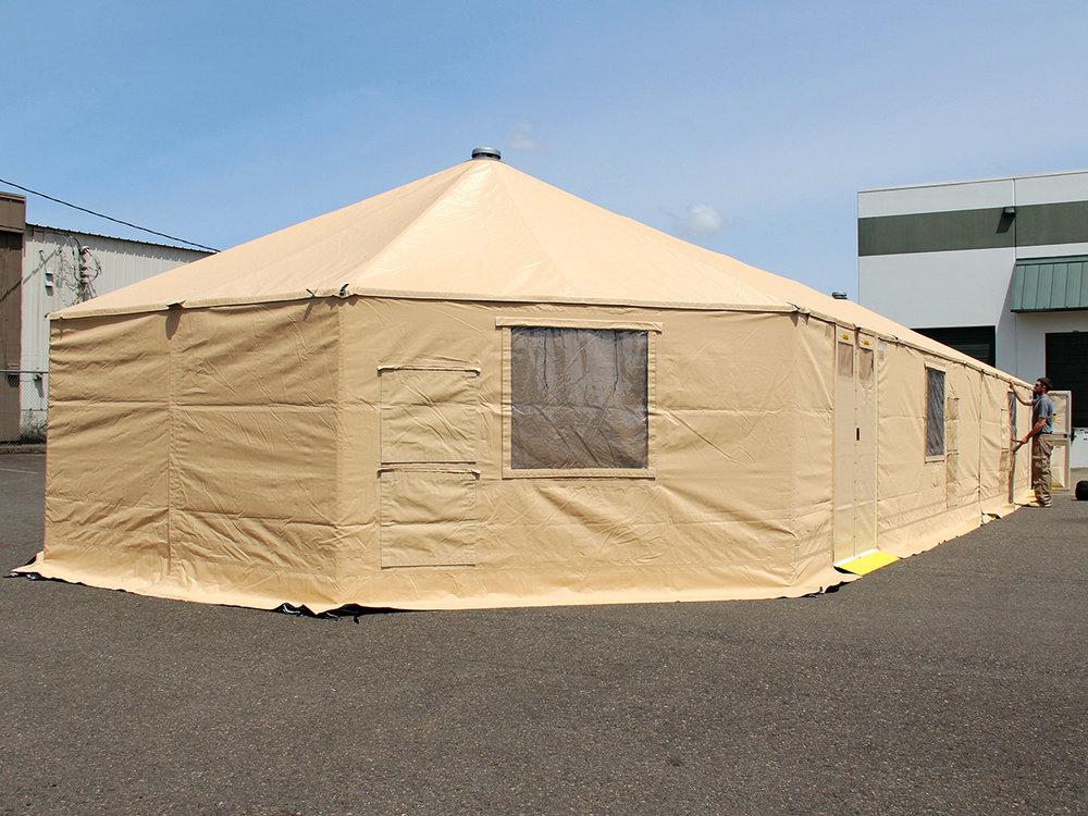 Western Shelter Gatekeeper 2360 Dining facility