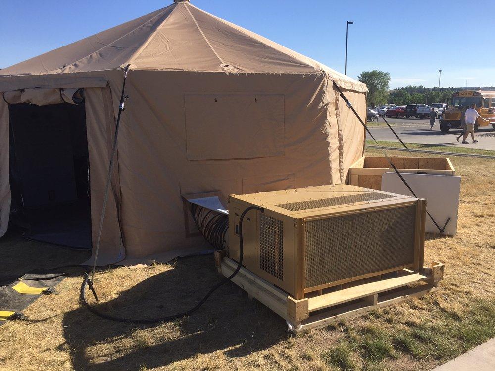 Military spec HVAC