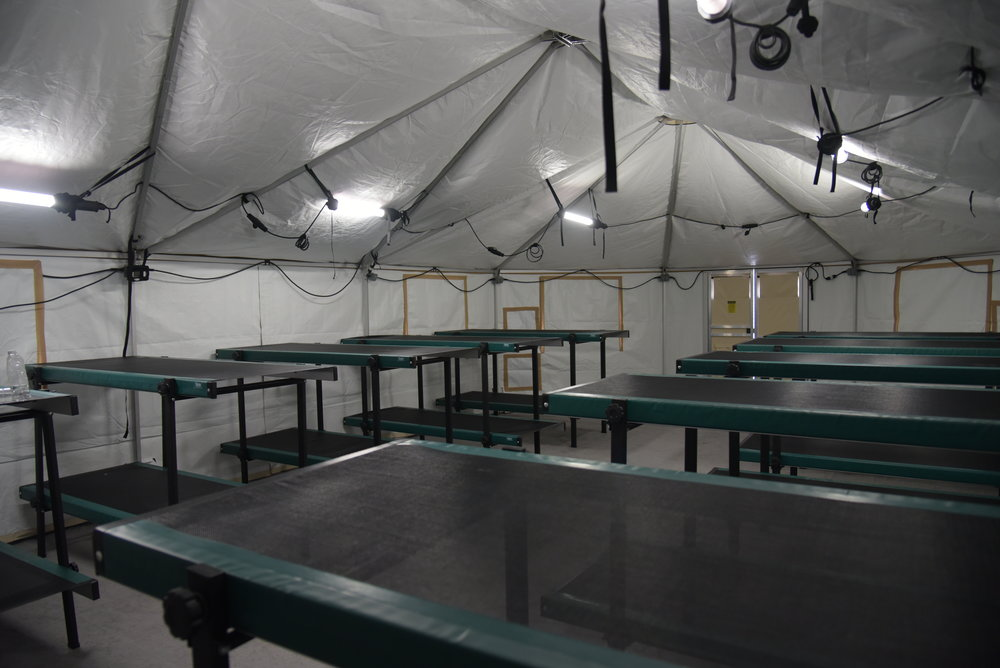 shelter cots