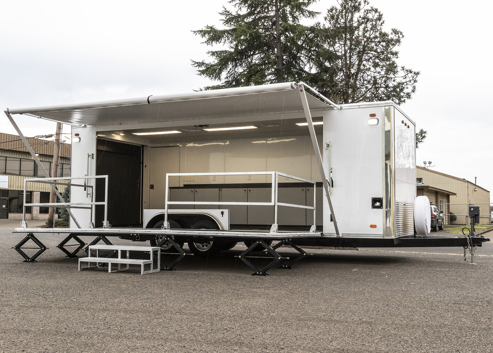Washington Air National Guard Trailer