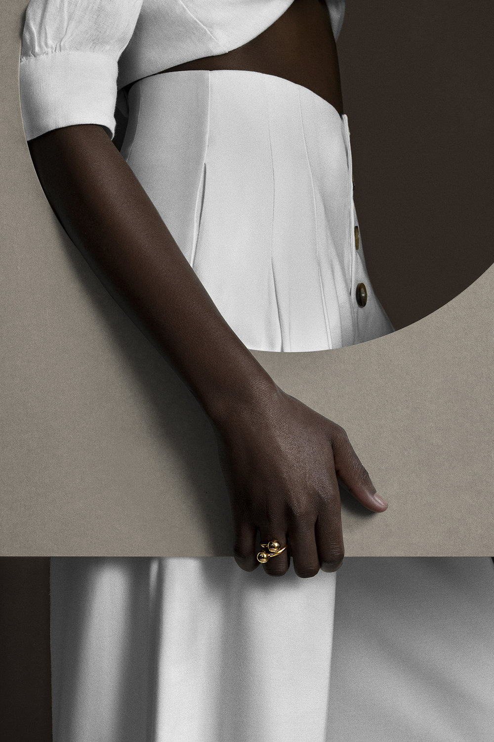 Giannina oteto for nashira arno fashion jewerly nyc  latin american designer from dominican republic  modern sculptural statement gold sphere ring shop online sale.jpg
