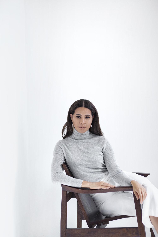 Nashira Arno Jewelry NYC based Latin American Designer Female Founder from Dominican Republic Luis Guillen Photo Portrait