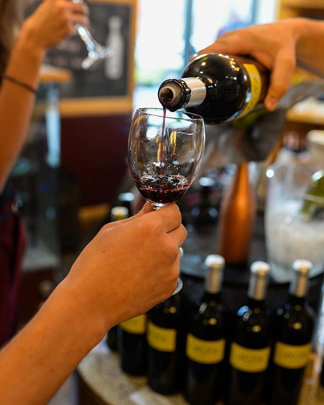 Grab a glass! Wine tasting Tonight and tomorrow! From 6 - 8 pm!