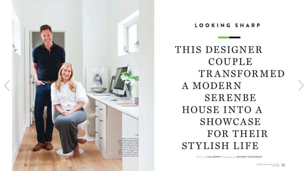 Mister and Mrs Sharp Atlanta Homes and Lifestyles Magazine Article 01.png