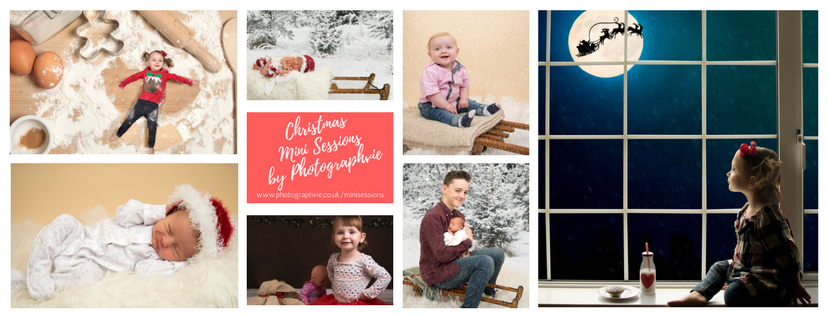 Christmas mini sessions ely 2017 newborn photography family photos waiting for santa