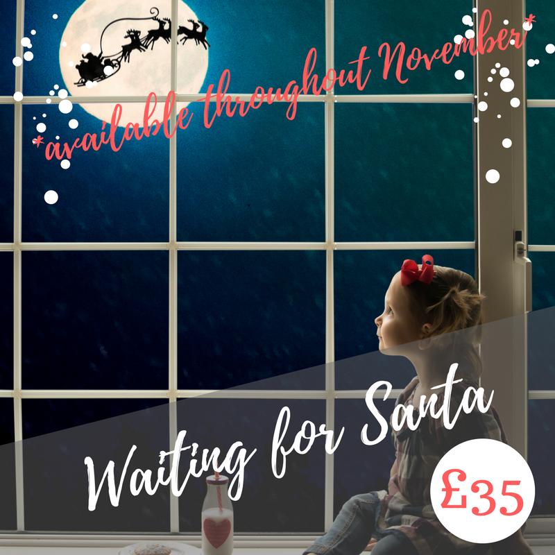 Waiting for Santa digital image
