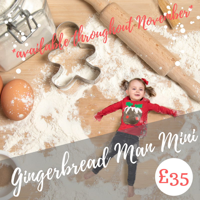 Become a Gingerbread Man digital image
