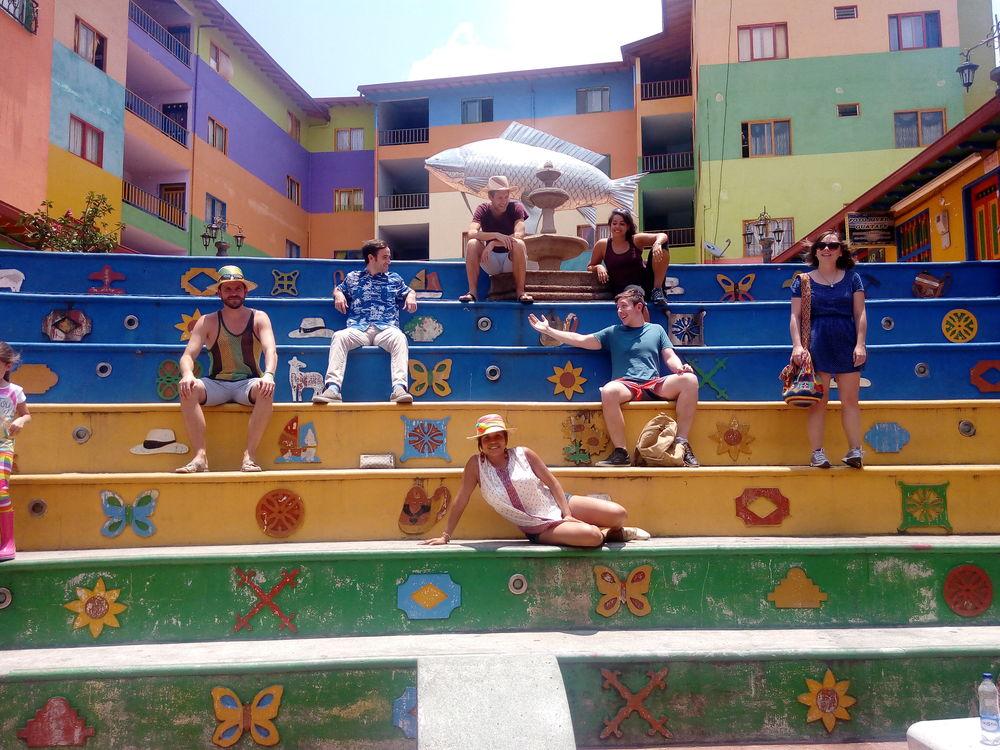 Posing in Guatapé
