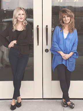 Mother-daughter owners, Suzy Mills and Chelsea-Skye Netter
