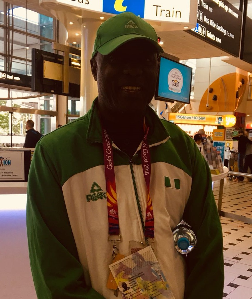 "The coaches and support staff for the athletes - ""I have learnt how hospitable the Australians are, we have had a wonderful welcome""-Team Nigeria"