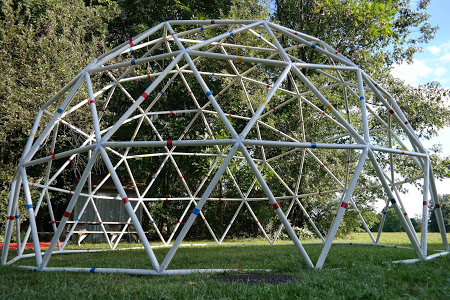 PVC Geodesic Dome