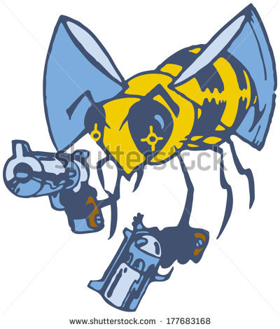 stock-vector-vector-cartoon-clip-art-illustration-of-a-wasp-or-bee-brandishing-two-pistols-or-guns-177683168
