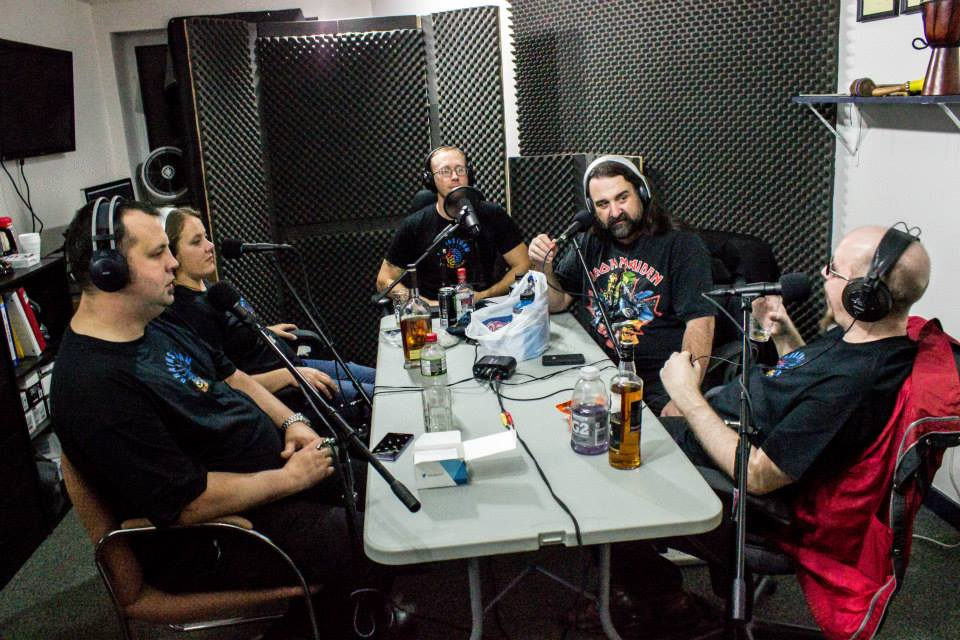 During recording