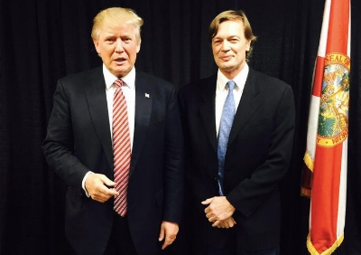 President Elect Donald Trump met with well known quack and fraud Andrew Wakefield