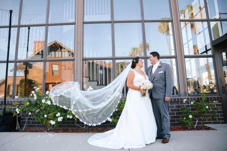 Long Beach Museum Of Art Wedding Catie Lucas