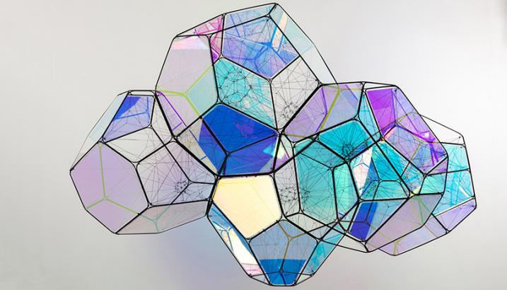 example of iridescent vinyl