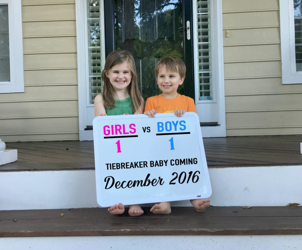 3rd grandchild announcement