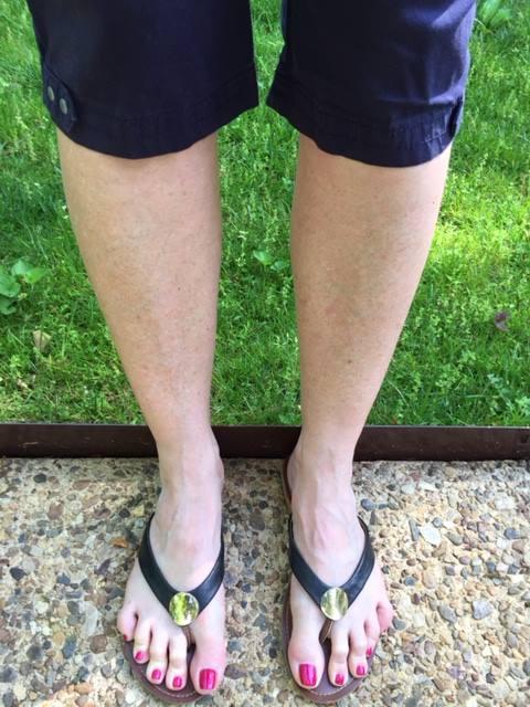 5-2-16 Capri pants - white legs