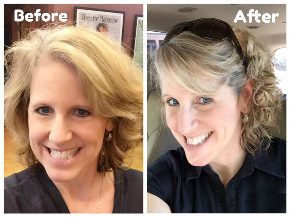 Hair Before + After2
