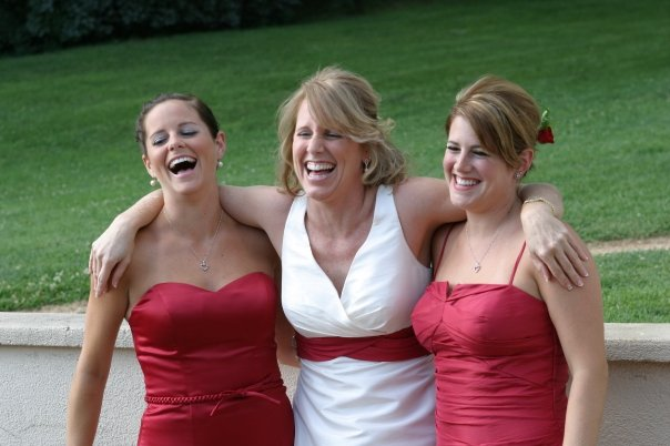 Me Nikki + Kori at my wedding