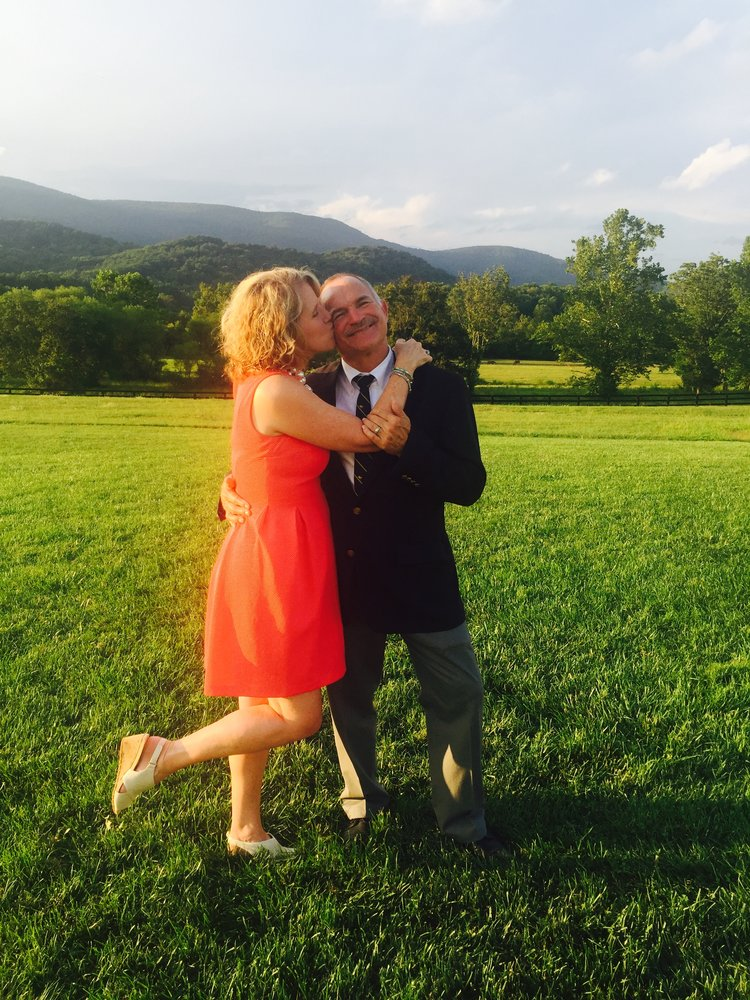 Nothing like a wonderful wedding in a beautiful location (King Family Vineyard) to make you realize how lucky you are to be with the one you love!