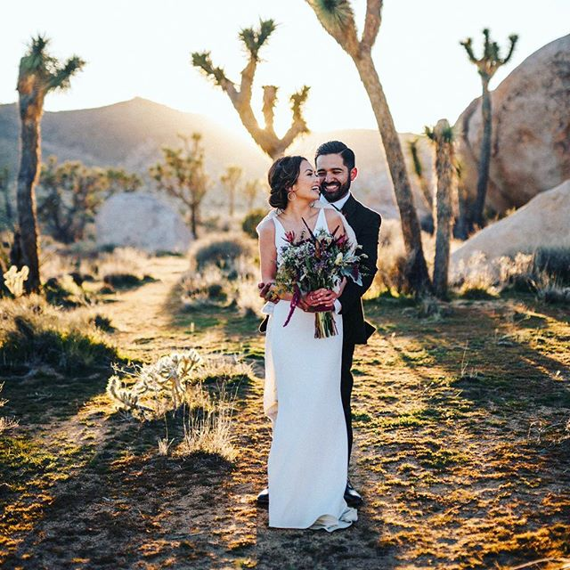 The Negrete Newlyweds did it all against the grain, and had the most stunning elopement in the desert. We are so happy that we could be a part of their love story 🌵♥️✨