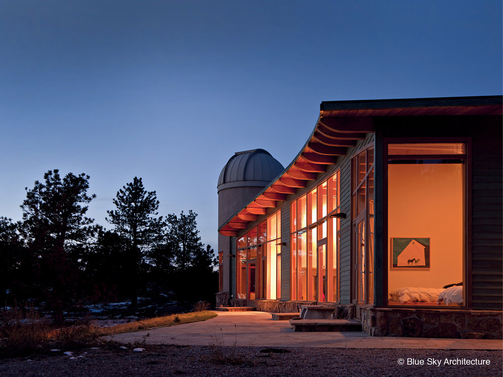 Heavy Timber Construction with Observatory