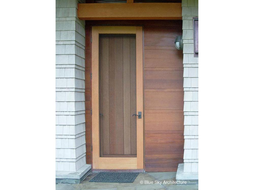 Custom Frame and Panel Door