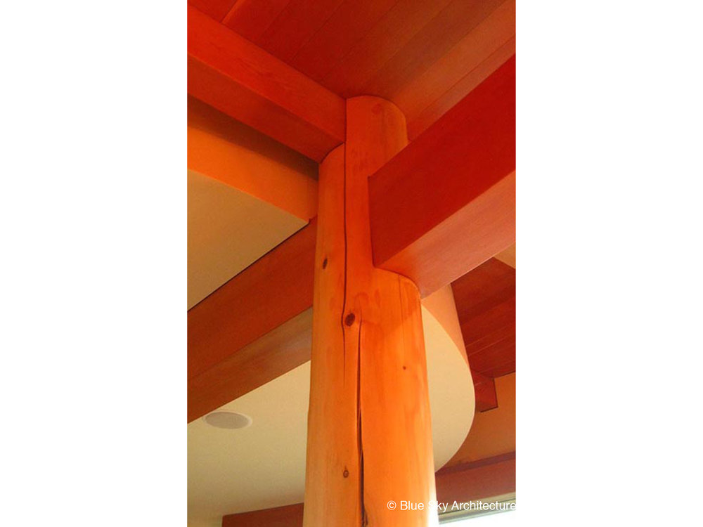 Post and Beam Detail